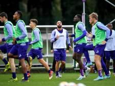 Anderlecht part en stage avec Anthony Vanden Borre
