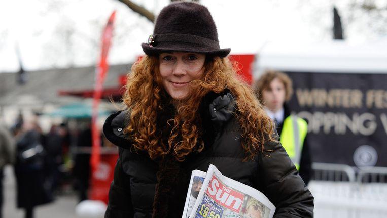 Rebekah Brooks, oud-hoofdredacteur van News of the World Beeld Getty Images