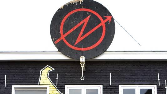 Het kraakpand Ubica in Utrecht.