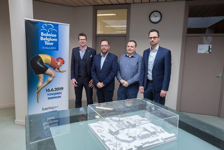 Recent nog werd de aankomst van de slotetappe van de Baloise Belgium Tour in Beringen voorgesteld.