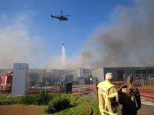 Brand Molenaarsgraaf onder controle: bewoners afgezet gebied mogen weer naar huis