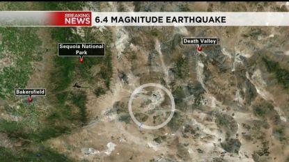 Aardbeving met kracht van 6,4 schrikt Californië op