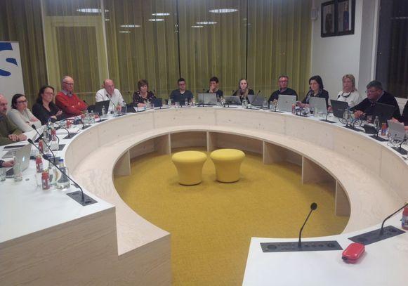 De gemeenteraad van Staden.