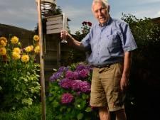 Johan Effing (85) uit Losser houdt al sinds de jaren 50 de temperatuur bij: 'Hittegolf kan nog veel extremer'