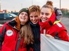 Adelaïde Charlier et Anuna De Wever sont revenues en porte-conteneurs d'Amérique du Sud