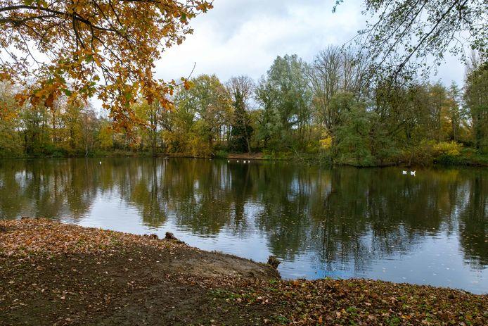 Het Bouckenborgpark in Merksem.