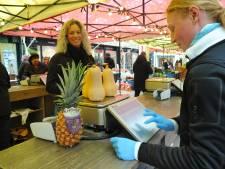 In maart waren er in winkelharten Vlissingen en Middelburg veel meer mensen op de been dan elders