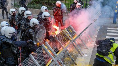 Eén actievoerder van protestactie in Brussel rechtstreeks gedagvaard, onderzoek naar gedrag van tweede betoger gaat verder