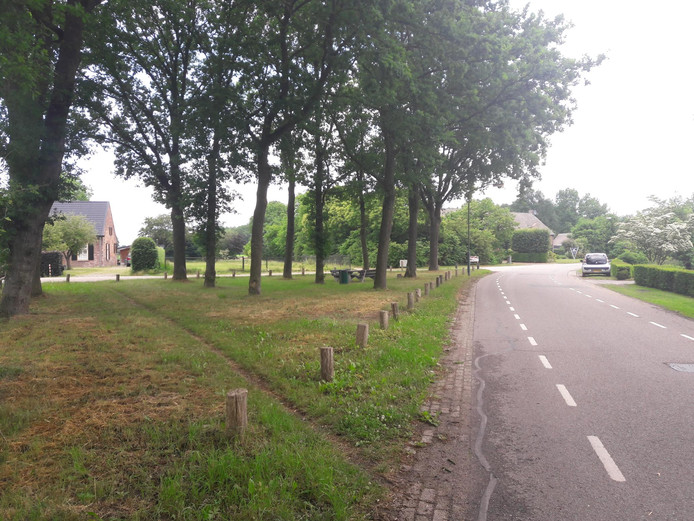 De historische plaetse aan de Boshovensestraat in Riethoven.