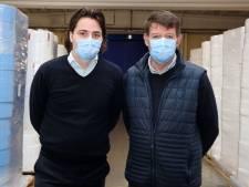 Mondkapjesfabriek in Assenede draait op volle toeren: 'wij kunnen er morgen anderhalf miljoen leveren'