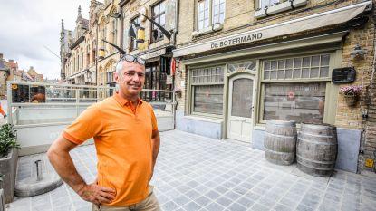 """De Botermand, supporterscafé van Club Brugge, heropent: """"Hoe ik de bekerfinale zal aanpakken, is nog een raadsel"""""""