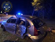 'Zwalkende' bestuurder (53) laat spoor van vernieling achter in Lelystad