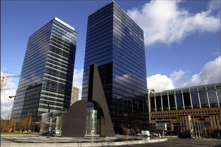 Het North Galaxy-gebouw aan het Brusselse Noordstation.
