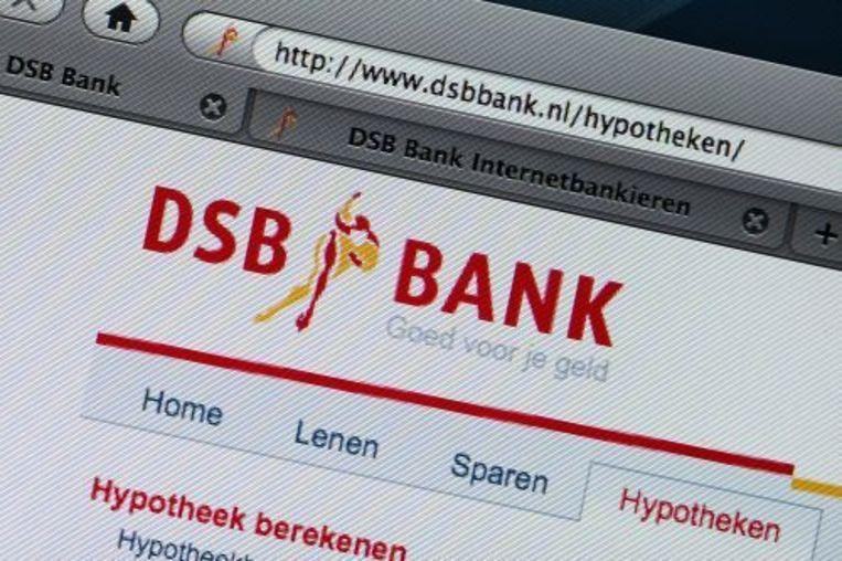 De DSB-website draait weer. ANP Beeld