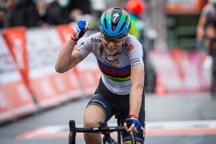 Wereldkampioene Anna van der Breggen.