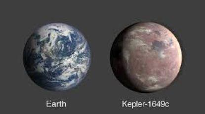 Levensvatbare exoplaneet gevonden die op de aarde lijkt: ongeveer even groot en zelfde temperatuur
