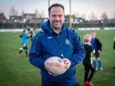 Jos Fuchs krijgt energie van zijn werk voor Rugby Club Betuwe