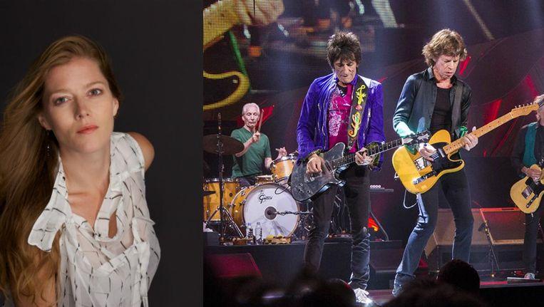 Links sopraan en dirigente Barbara Hannigan (nummer 1), rechts The Rolling Stones (nummer 50). Beeld Jim Pietryga (Rolling Stones)