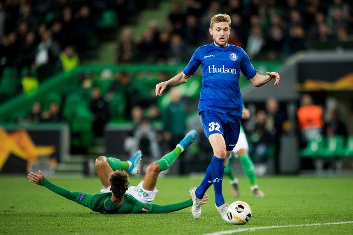 Gand a résisté à Saint-Etienne et s'offre une qualification pour les seizièmes de finale de l'Europa League.