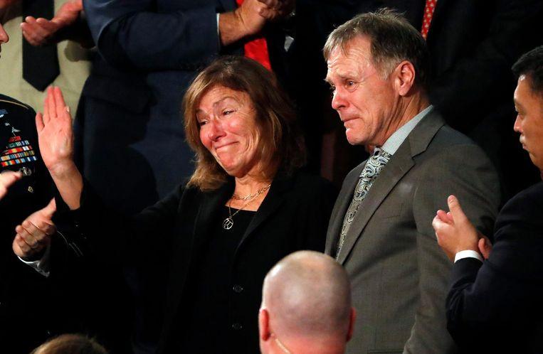 Fred en Cindy Warmbier, de ouders van Otto Warmbier Beeld reuters