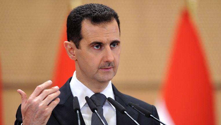 De Syrische president Assad. Beeld ap