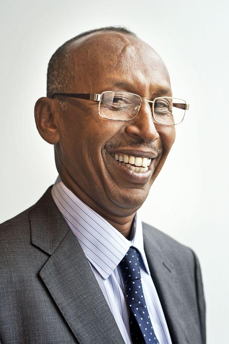 Mohamed Abdi Mohamed (55). Beeld Guus Dubbelman / de Volkskrant