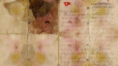 """Brief van Titanic-slachtoffer geveild: """"Als alles goed gaat, komen we woensdag aan in New York"""""""