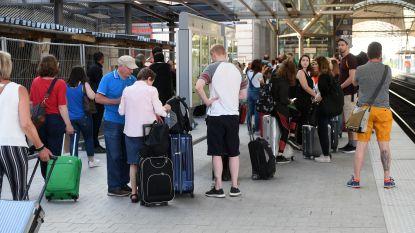 Thalys ontruimd na persoonsongeval op sporen