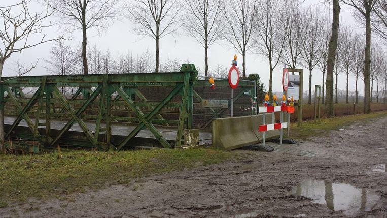 De Notelaarsbrug was in slechte staat en werd afgebroken.