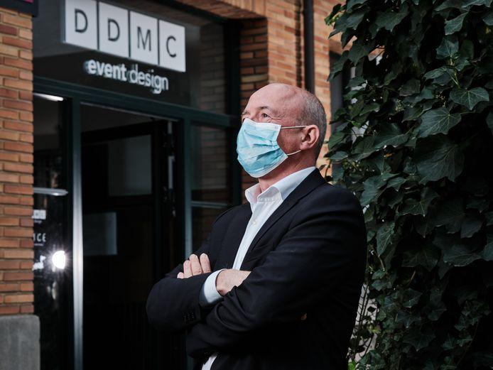 Frank Anthierens van DDMC schat dat de omzet de voorbije maanden met 85% is gedaald.