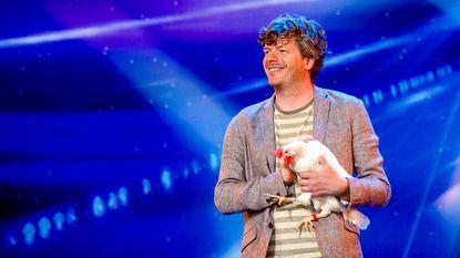 Jo laat kip Curry weer toveren bij Belgium's Got Talent