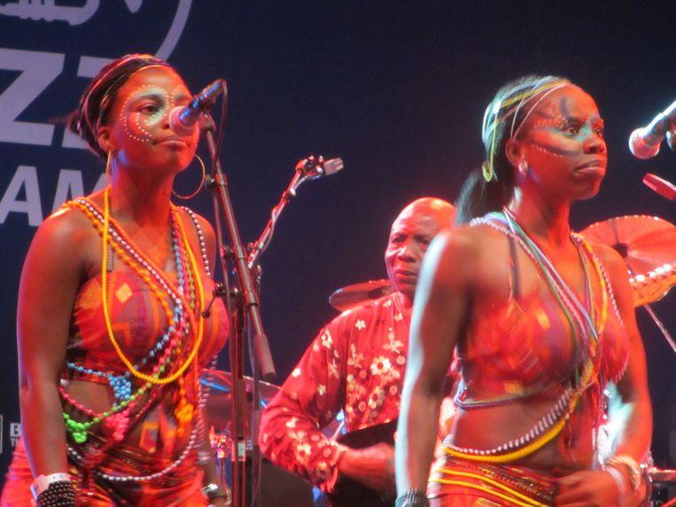 De twee oogstrelende zangeressen van Egypt 80 Beeld AD