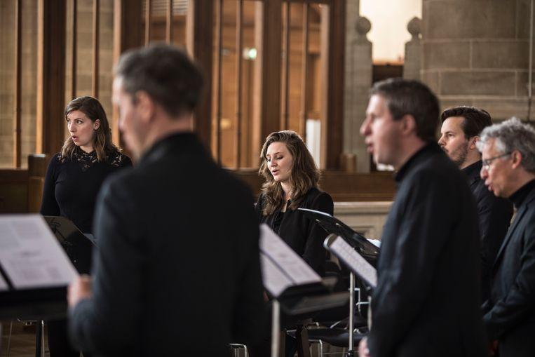 De paasdienst wordt opgenomen in de Laurenskerk.  Beeld Arie Kievit