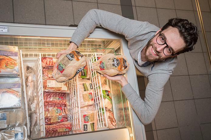 Niels van der Ham gaat samen met Dennis Kas veggie door de vastentijd. geen vlees dus