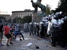 Dix policiers blessés dans les heurts de mercredi en Serbie