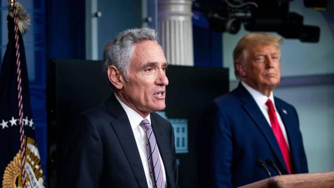 """Medisch experts Fauci en Redfield uiten bezorgdheid over nieuwe adviseur Trump: """"Alles wat hij zegt is onjuist"""""""