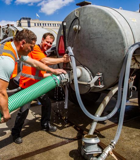 Gratis miljoen liter water komt als geroepen voor Deventer boompjes