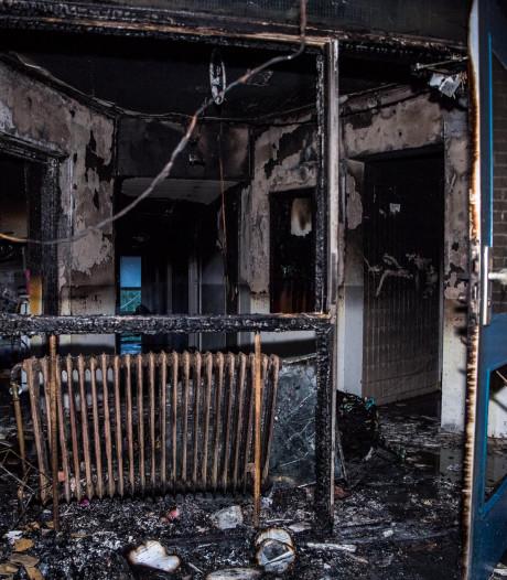 Veel schade na brand in studentenflat Tilburg
