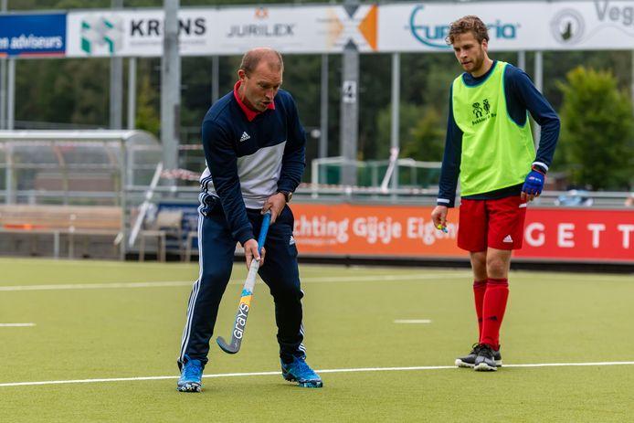 Jeroen Delmee, coach van hoofdklasser Tilburg,