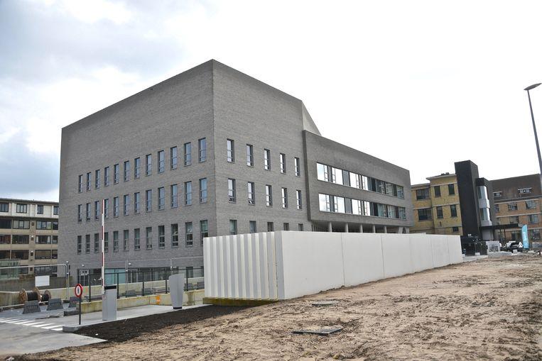 De nieuwbouw in de Bruggesteenweg.