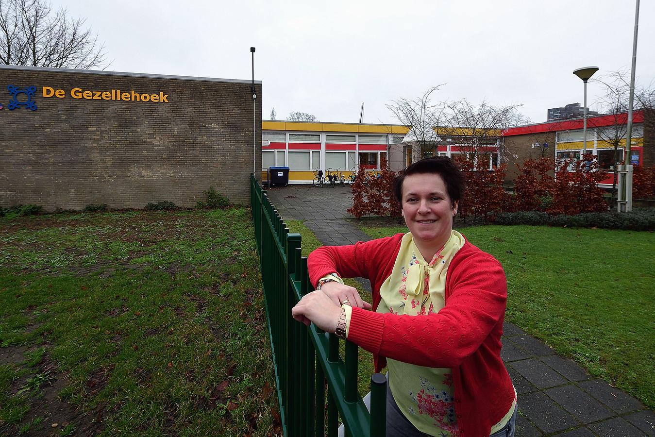 Directeur Jessica Heirbaut van BS Gezellehoek heeft groen licht voor vernieuwbouw van de school.