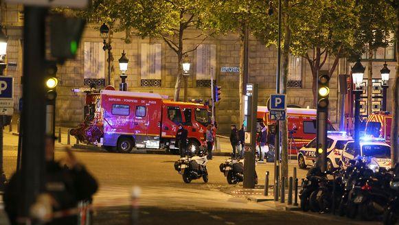 De aanslag vond plaats op de Champs-Elysées.