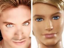 Man 8 keer geopereerd om op barbiepop Ken te lijken