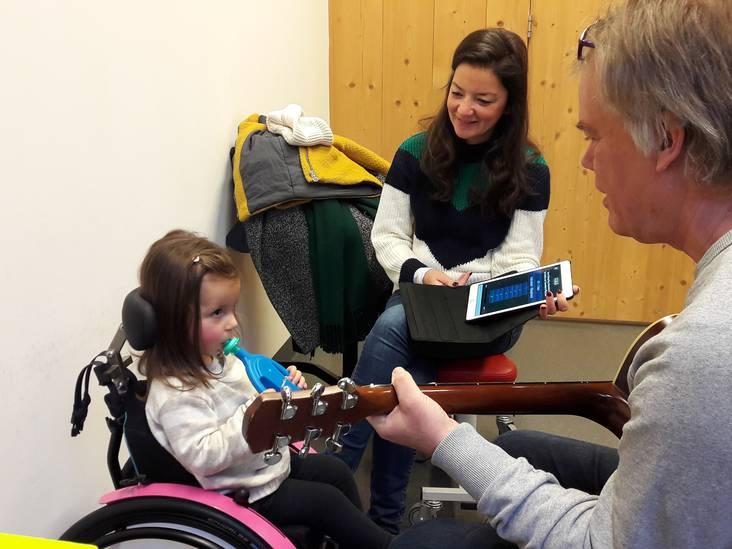 'Deze ademhalingstherapie helpt én maakt Sara blij'