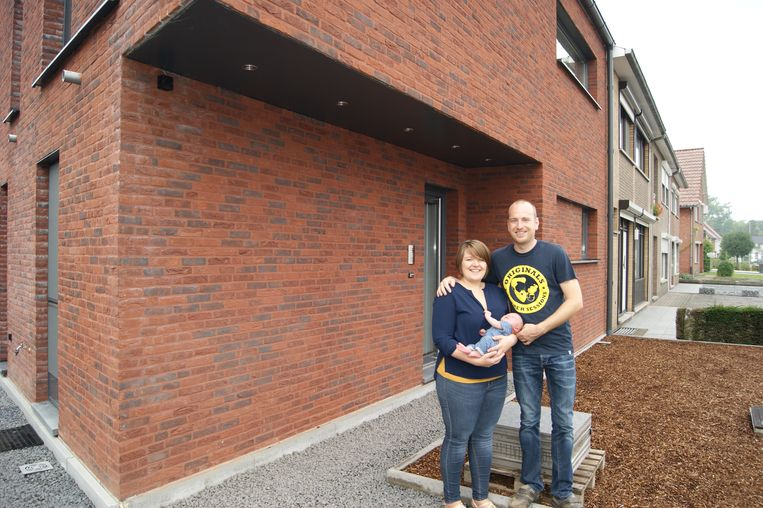 Joren en Cynthia wonen met zoontje Wout in een moderne nieuwbouw in Hechtel-Eksel.
