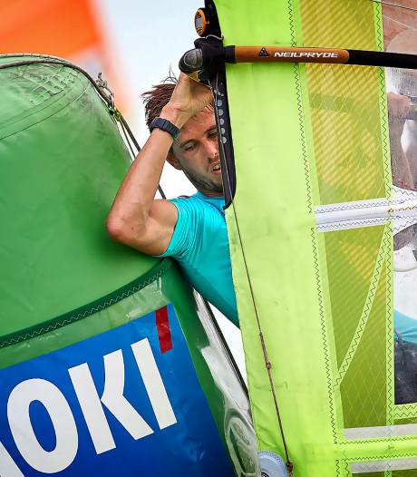 Zelf bedacht selectiesysteem voor windsurfers