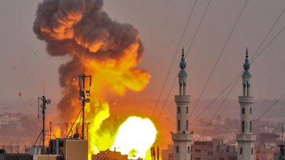 Israël dropt bommen op Gaza: drie doden