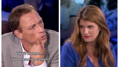 """""""Mannen trouwen, honden trouwen"""": schokkende opmerkingen van Jean-Claude Van Damme slaan Franse staatssecretaris met verstomming"""