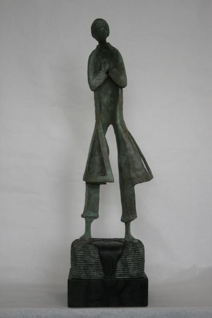 Sculptuur van Tajddin Özen.