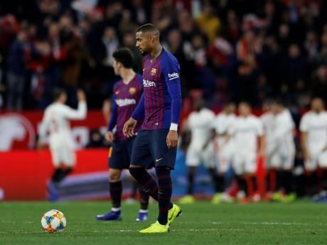 Uitblinker Promes helpt Sevilla aan zege in eerste duel met Barça